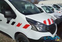 Flocage Renault Trafic Eiffage Énergie Systèmes