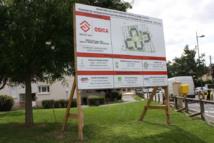 Panneau de chantier grand format 4m x 3m