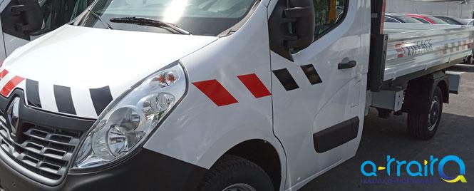 Marquage adhésif EIFFAGE Renault Master