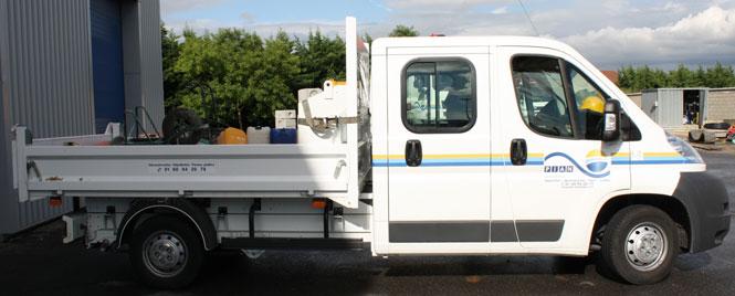 Marquage adhésif sur flotte de véhicules variés