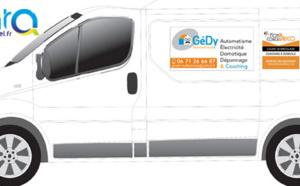 Plaques magnétiques pour véhicule sur mesure