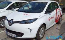 Marquage adhésif Véolia Renault Zoé