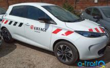 Marquage adhésif Eiffage Renault Zoé