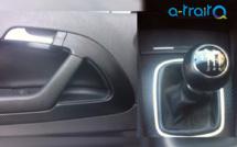 Eléments intérieurs sur AUDI A3