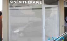 Masquage vitrine en adhésif dépoli