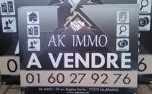 Panneau alvéolaire agence immobilière